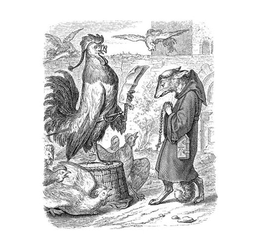 A Good Monk - Wilhelm von Kaulbach