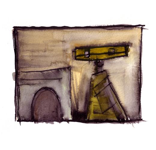 MS. Journey Bot in Watercolors - J Ryan Buller